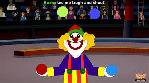 circus nursery rhyme with lyrics u0026 karaoke youtube