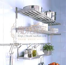 etagere cuisine ikea etagere cuisine inox 5 avec murale et font b stainless steel wall