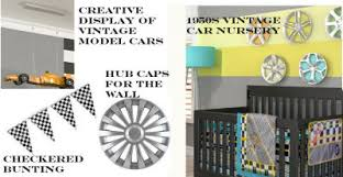 Car Nursery Decor Vintage 1950s Baby Nursery Ideas Decorating With Vintage Cars
