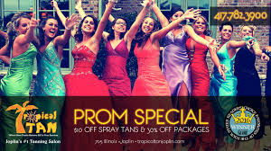 get ready for prom with 10 off spray tans u0026 30 off packages
