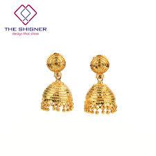 jhumki earring the shigner ethnic indian dazzling golden birdcage jhumka jhumki