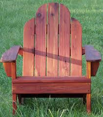 Redwood Adirondack Chair Adirondack Chairs Outdoor Furniture For Patios