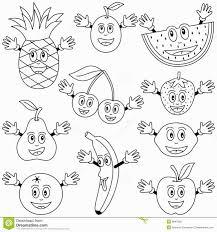 classy design ideas fruit coloring pages baskets color