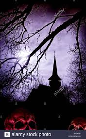 creepy halloween background textures creepy halloween background with a silhouette of a church and