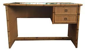 Bamboo Desks Vintage U0026 Used Boho Chic Desks Chairish