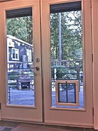 Install French Doors Exterior - how to install a sliding glass pet door