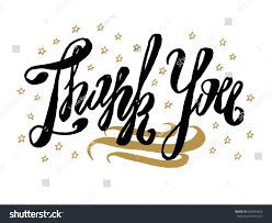 thank you card beautiful greeting card stock vector 635844833