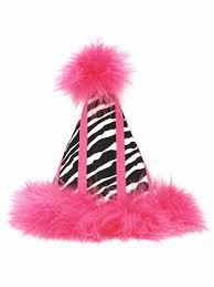 zebra print desk accessories pink zebra print birthday party hat