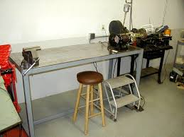 Work Bench With Vice Steel Work Bench