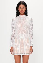 white dresses cream dresses online missguided ireland