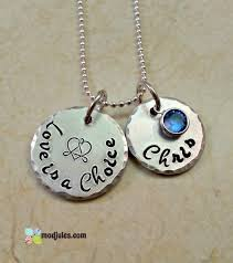 Necklaces With Children S Names Personalized
