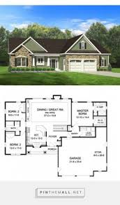 house planners small bungalow house plan with master suite 1500sft house
