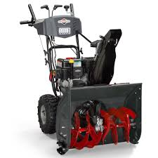 briggs u0026 stratton briggs u0026 stratton 24 in dual stage snow blower