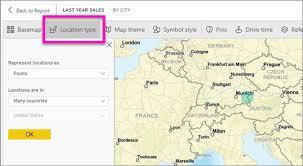 data map arcgis maps in power bi service and power bi desktop by esri