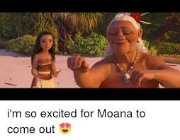 Excited Girl Meme - i m so excited for moana to come out excite meme on me me