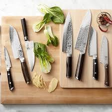 kitchen cutting knives shun fuji chef s knife williams sonoma