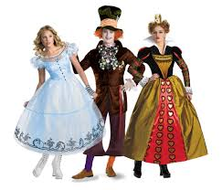 family theme halloween costumes alice in wonderland halloween costumes