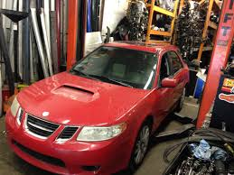saab 9 2x 2005 saab 92x aero saabaru subaru wrx wagon part out