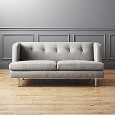 sofas with metal legs modern sofas and couches cb2