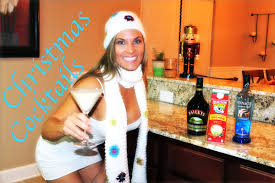 martini eggnog christmas cocktails how to make a cinnamon bun eggnog martini