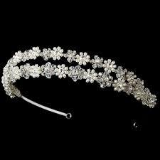 banded headbands swarovski banded headband dh020 116 00 bridal