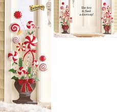 peppermint topiary wall decoration