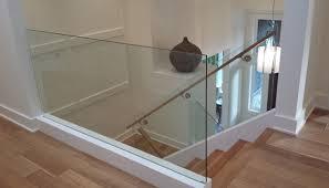 Frameless Glass Handrail Custom Design Services North Vancouver Frameless Glass Rails