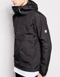 bench high neck jacket in black for men lyst