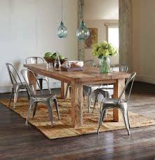 dinning reclaimed wood dining table rustic dining table and chairs