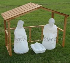 outdoor nativity white nativity set outdoor outdoor designs
