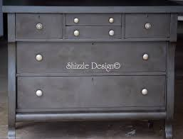 Painting Black Furniture White by Shizzle Design Empire Dresser Refinished In Old White Chalk Paint