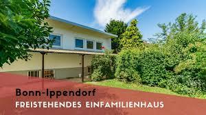 Zu Kaufen Bonn Ippendorf Freistehendes Einfamilienhaus Zu Kaufen Garage