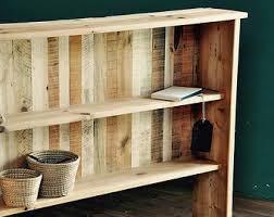 Reclaimed Wood Bookshelf Industrial Wall Unit Reclaimed Wood Shelves Wood Shelves