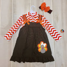 thanksgiving day clothes thanksgiving chevron turkey dress laleepop kids clothing