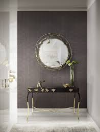 how to decorate the space with wall mirrors
