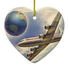 vintage airplane ornaments keepsake ornaments zazzle
