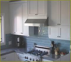 light blue kitchen backsplash design light blue subway tile cool kitchen backsplash home