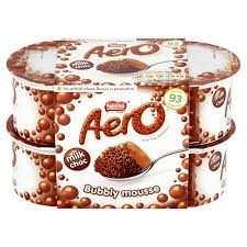 morrisons aero chocolate mousse 4 x 59g product information