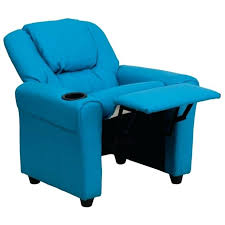 Faux Leather Recliner Faux Leather Recliner In Turquoise Turquoise Leather