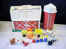 Fisher Price Little People Barn Set Vintage Goodness 1 0 New Goodness At Auction On Ebay Paint By