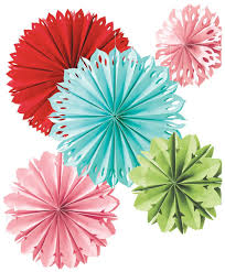 decor hanging paper flower decorations artistic color decor