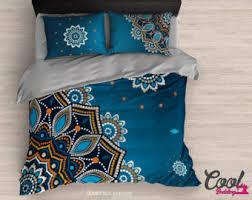 Bohemian Style Comforters Gypsy Bedding Etsy