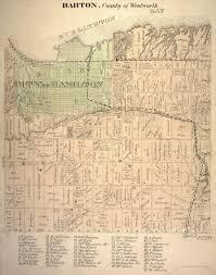 Hamilton Ontario Map Canadian County Atlas Digital Project