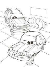 kids n fun com 38 coloring pages of cars 2
