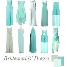 mint blue bridesmaid dresses bridesmaids dresses mint polyvore
