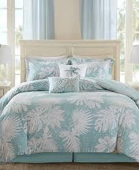 harbor house palm grove botanical print duvet cover sets bedding