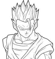 drawing goku super saiyan from dragonball z tutorial step 09 how