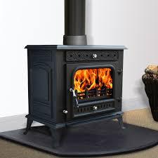 multifuel woodburner stove wood burning log burner modern fire