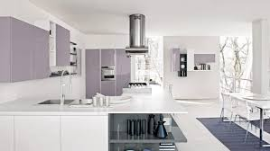 kitchen contemporary pastel purpel kitchen design with touchless