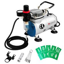 airbrush compressor hose holder filter stencil kit air brush tattoo na